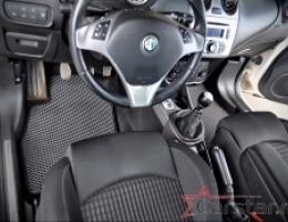Автомобильные коврики EVA на Alfa Romeo MiTo (2010->)