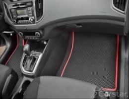Автомобильные коврики EVA на Hyundai Creta (2016->)