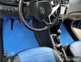 Автомобильные коврики EVA на Hyundai Solaris I (2010-2017)