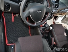 Автомобильные коврики EVA на Lada Kalina II (2013->)
