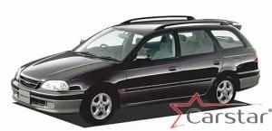 Toyota Caldina II Т210 пр.руль (1997-2002)