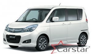 Suzuki Solio II пр.руль (2011-2015)