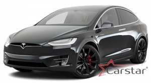 Tesla Model X 7 мест 3 ряда (2015->)