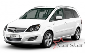 Opel Zafira B 3 ряда (2005-2014)