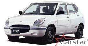 Daihatsu Storia пр.руль (1998-2004)