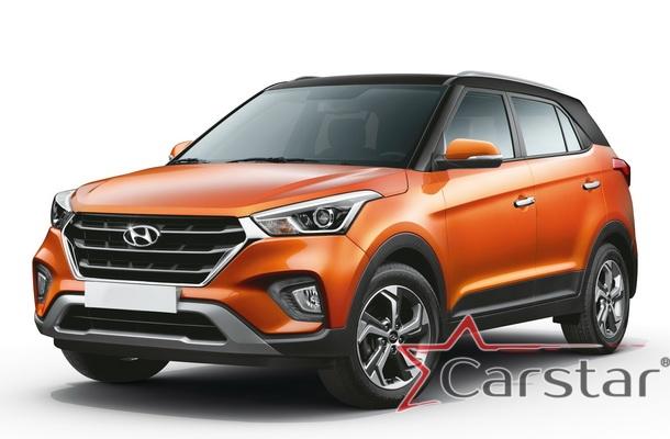 Автомобильные коврики EVA для Hyundai Creta (2016->)