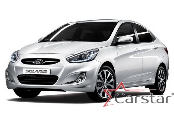 Автомобильные коврики EVA для Hyundai Solaris I (2010-2017)