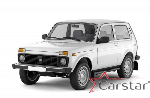 Автомобильные коврики EVA для Lada 2121 Niva 3D (1977-2014)