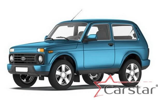 Автомобильные коврики EVA для Lada 2121 Niva Urban 3D (2014->)