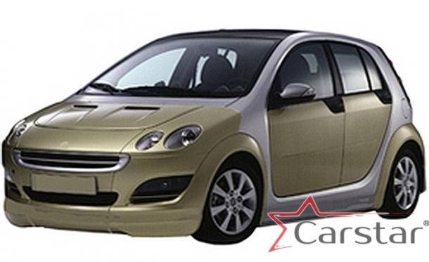Автомобильные коврики EVA для SMART ForFour I W454 (2004-2006)