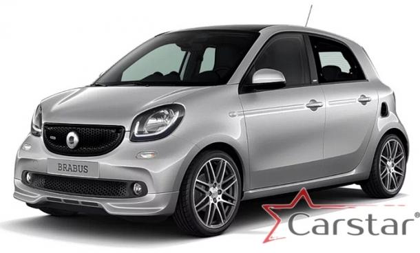 Автомобильные коврики EVA для SMART Forfour II C453 (2014->)