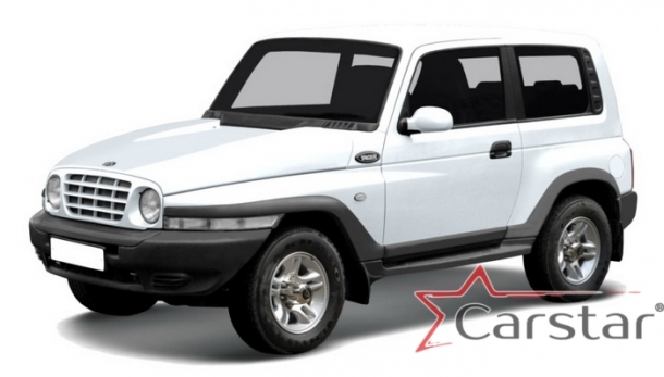 Автомобильные коврики EVA для Tagaz Tager 3D (2008-2012)
