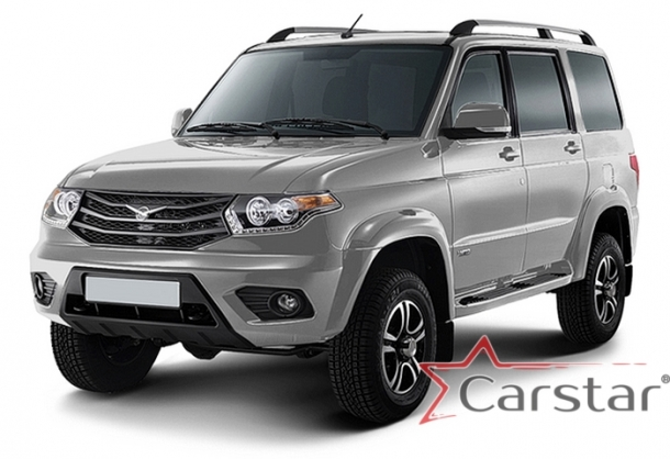 Автомобильные коврики EVA для УАЗ Patriot рестайл (2014->)