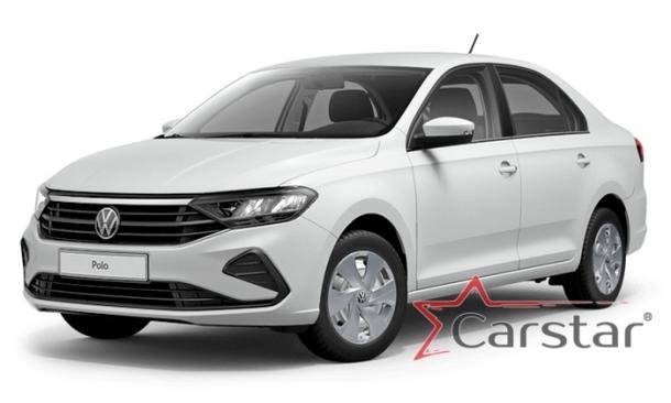 Двухслойные коврики EVA для Volkswagen Polo VI (2020->)