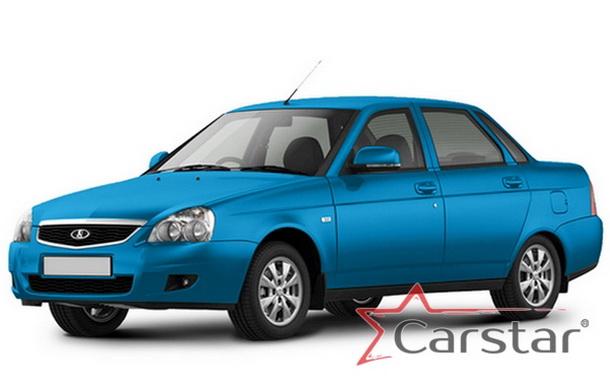 Автомобильные коврики EVA для Lada Priora (2007-2018)